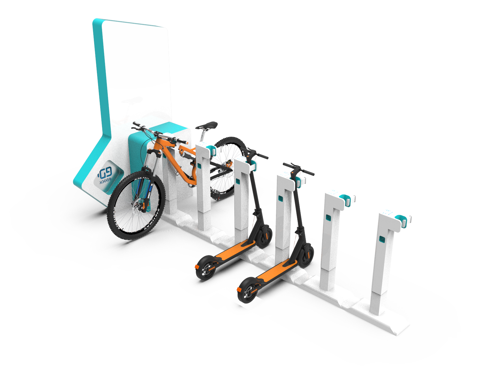 Micromobility parking